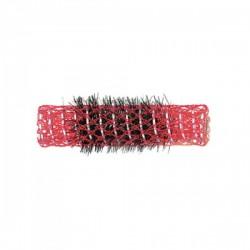 Bigoudis brosse 15mm rouge x12