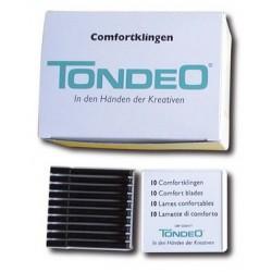 Lames Tondeo confort cut